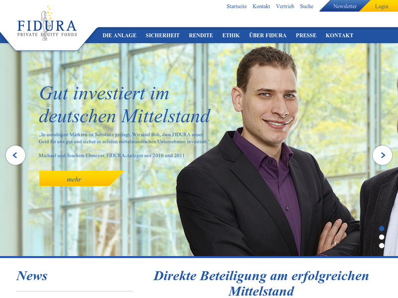 Images from FIDURA Private Equity Fonds