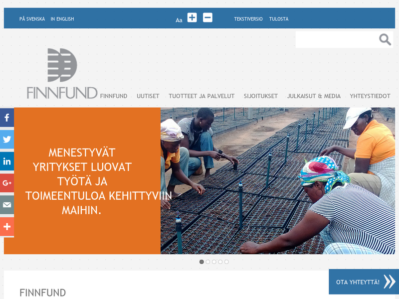 Images from FinnFund (Finnish Fund for Industrial Cooperation Ltd.)