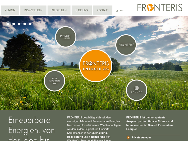 Images from Fronteris GmbH