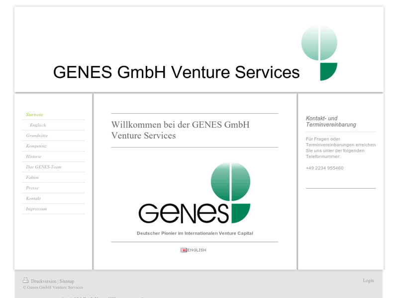 Images from GENES GmbH Venture Services