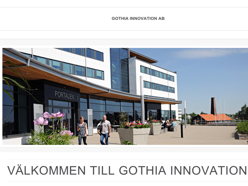 Images from Gothia Innovation AB