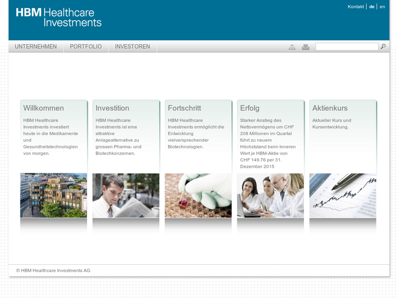 Images from HBM Healthcare Investments AG