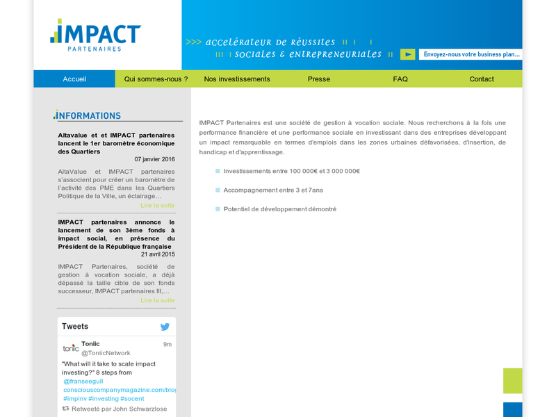 Images from IMPACT Partenaires