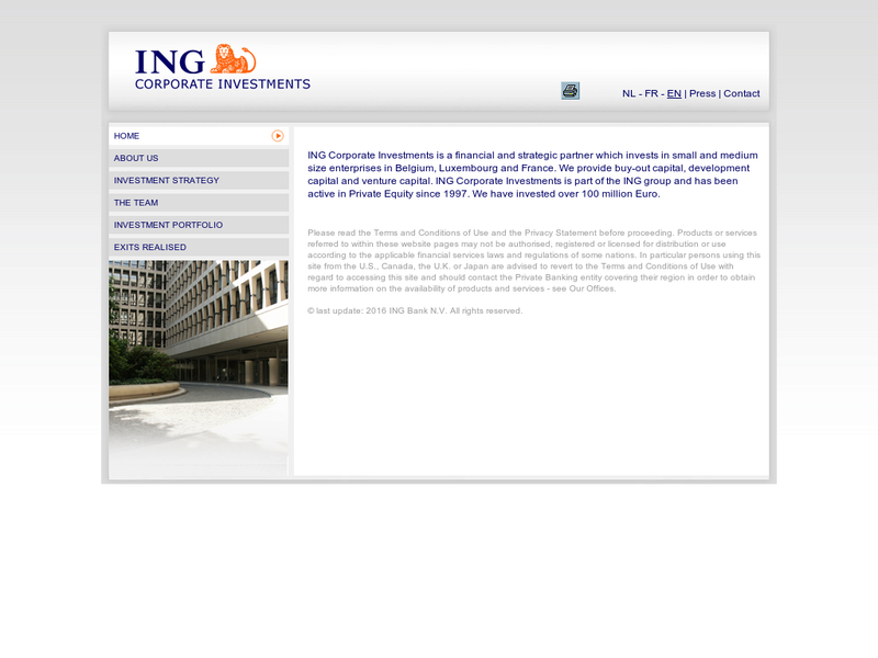 Images from ING Corporate Investments