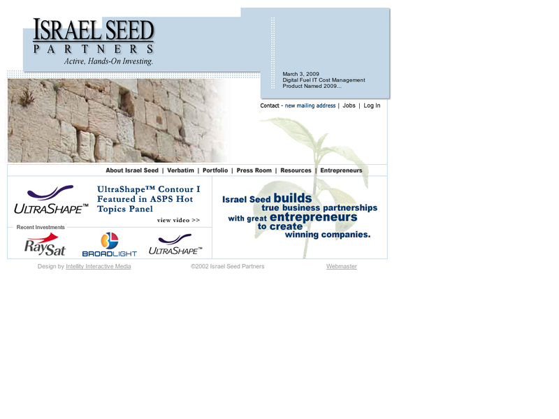 Images from Israel Seed Partners