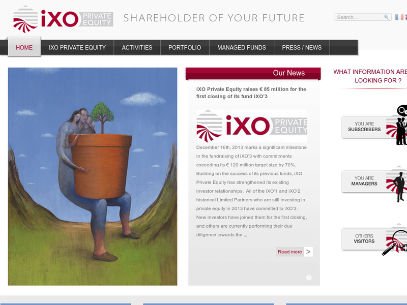 Images from IXO Private Equity