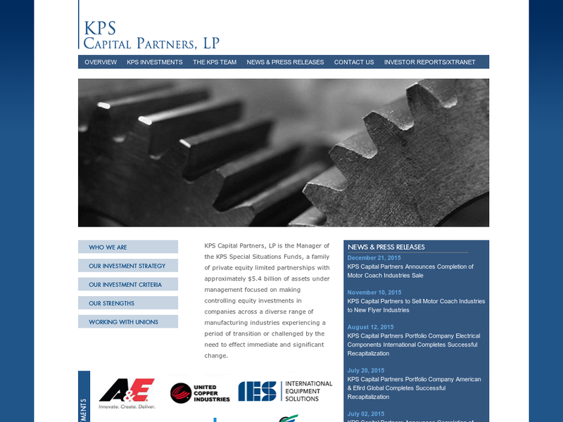 Images from KPS Capital Partners, LP