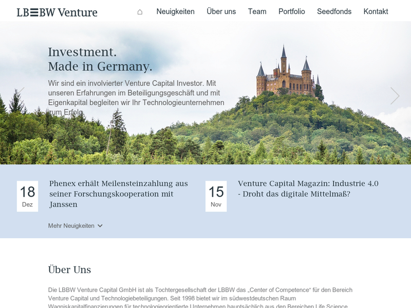 Images from LBBW Venture Capital GmbH