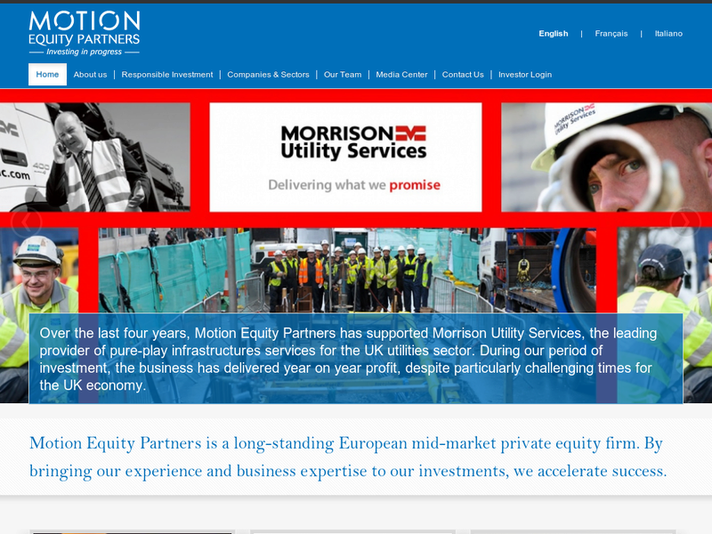 Images from Motion Equity Partners