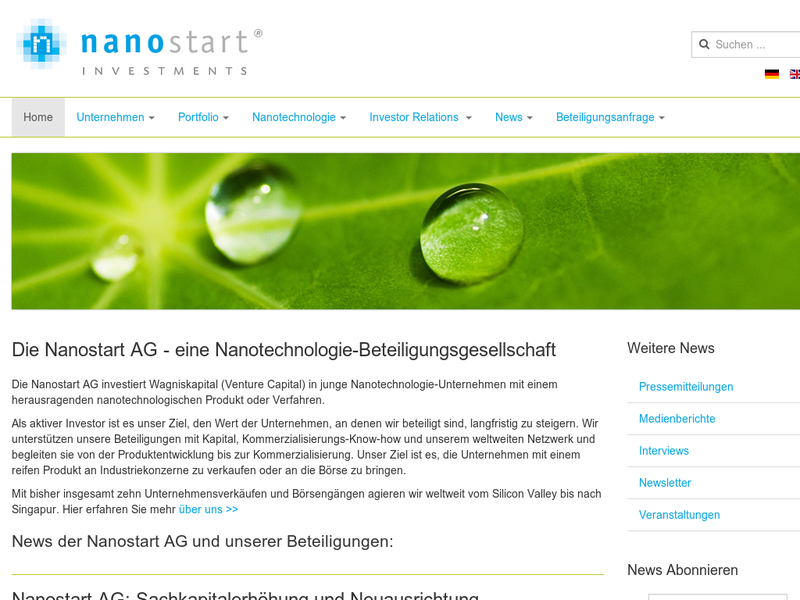 Images from Nanostart AG