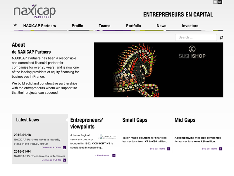 Images from Naxicap Partners