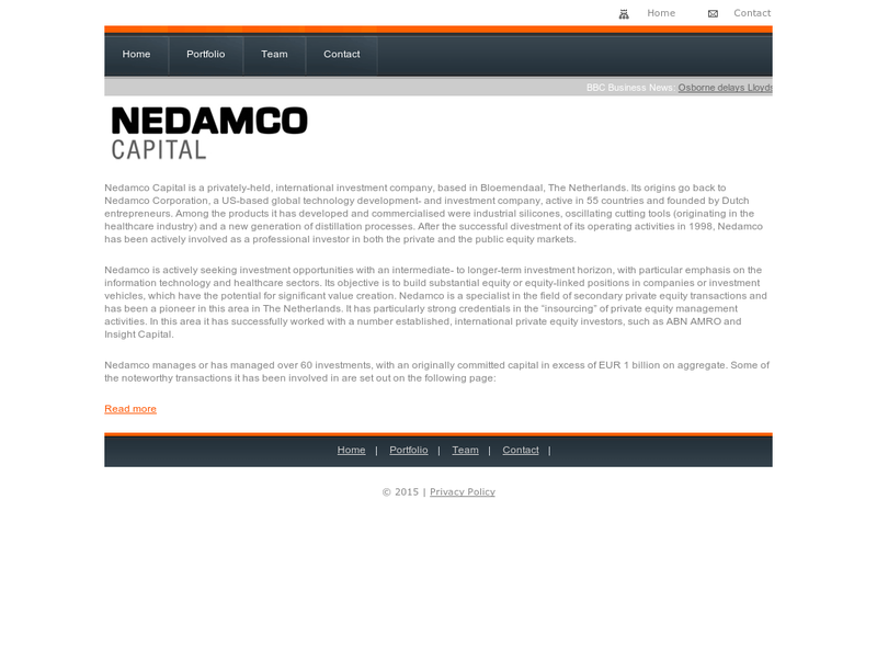 Images from Nedamco Capital