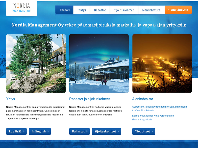 Images from Nordia Management Oy