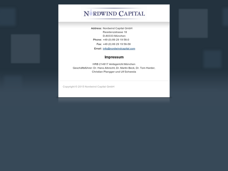 Images from Norwind Capital
