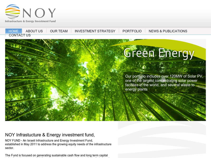 Images from NOY Infrastucture & Energy investment Ffund