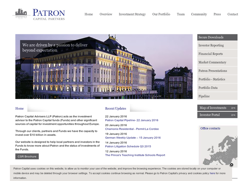 Images from Patron Capital Advisers LLP