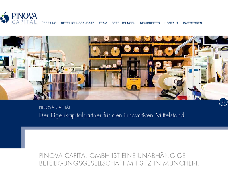 Images from PINOVA Capital GmbH
