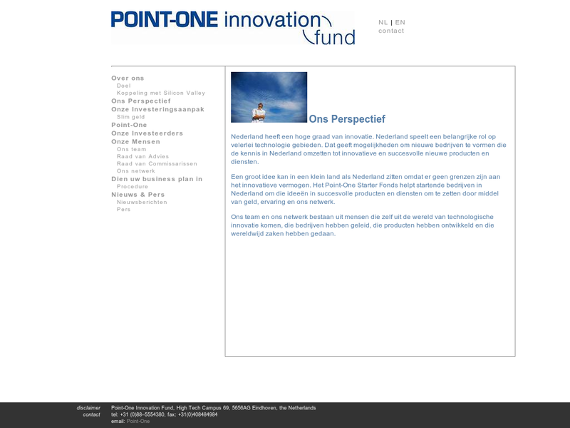 Images from Point-One Innovation Fund