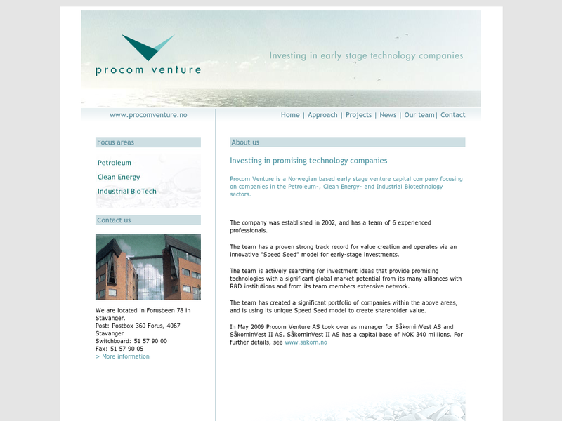 Images from Procom Venture AS