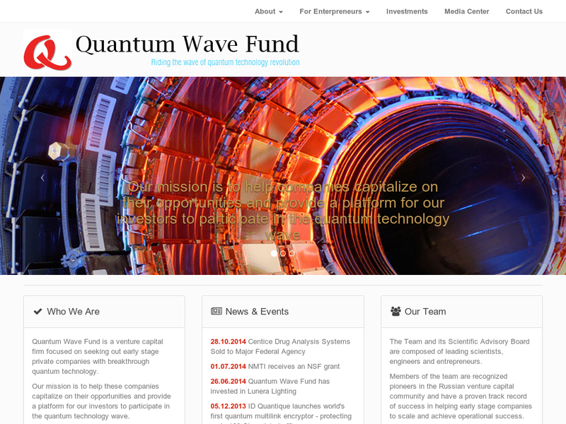 Images from Quantum Wave Fund