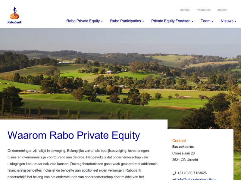 Images from Rabo Private Equity