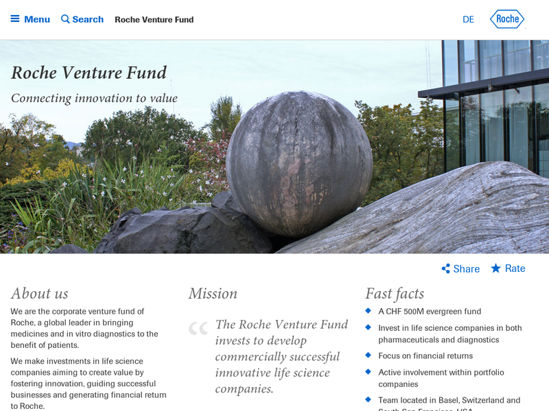 Images from Roche Venture Fund