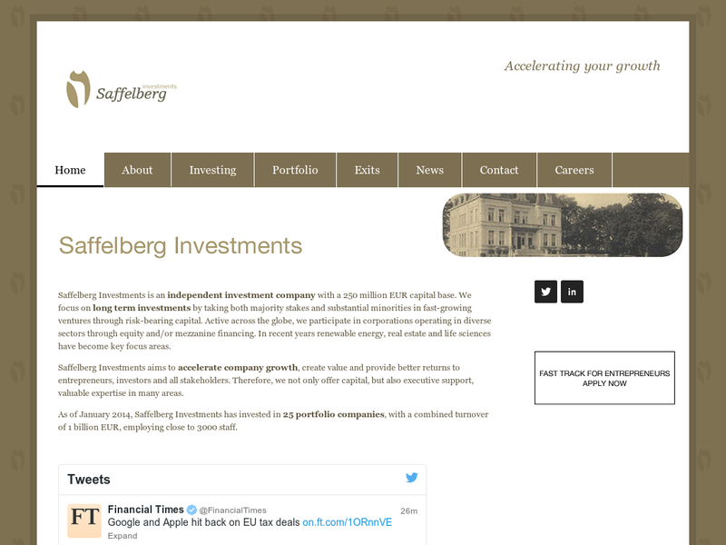 Images from Saffelberg Investments
