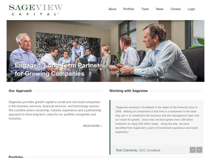Images from Sageview Capital LP.
