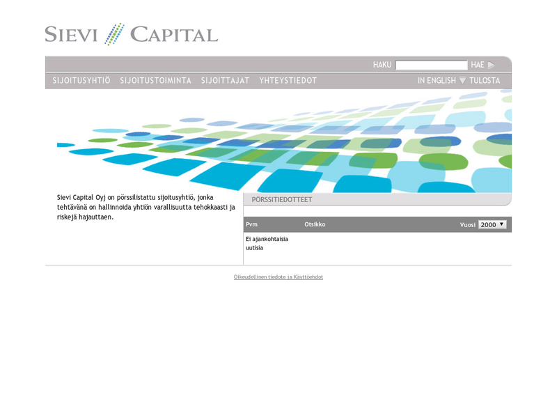 Images from Sievi Capital plc