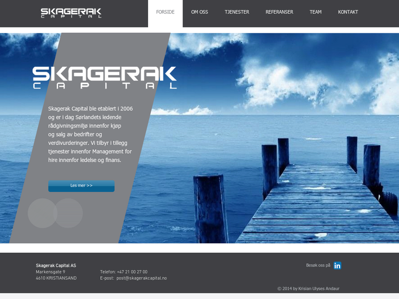 Images from Skagerak Capital AS