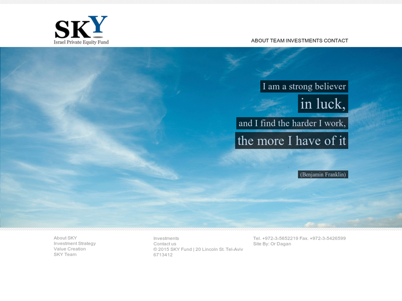 Images from SKY Fund