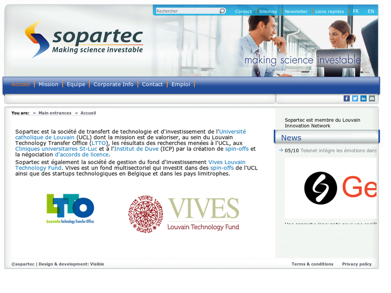 Images from Sopartec S.A.