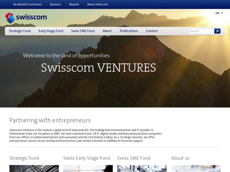 Images from Swisscom Ventures