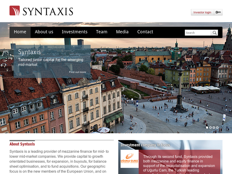 Images from Syntaxis Capital