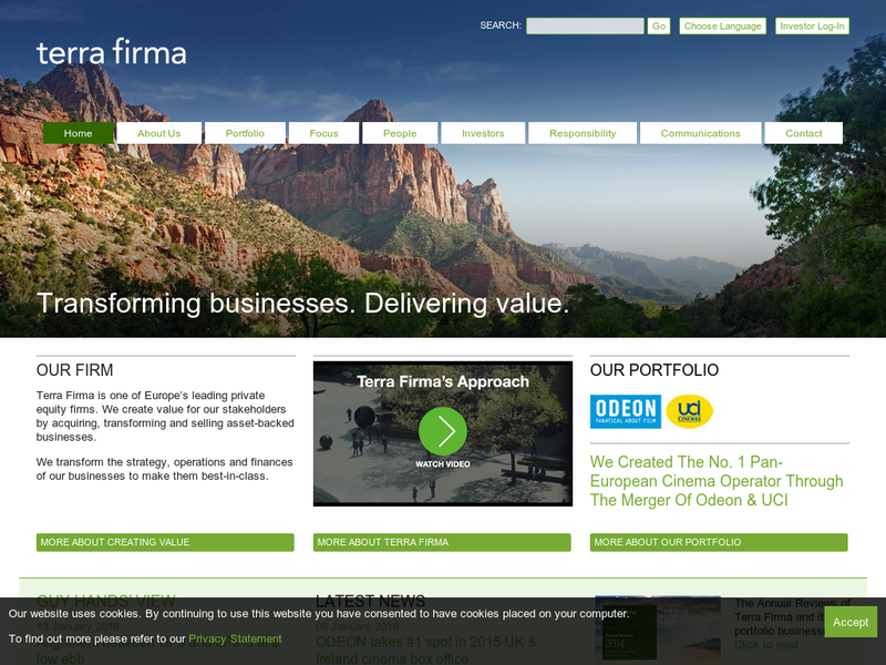 Images from Terra Firma Capital Partners