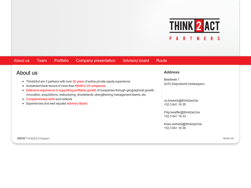 Images from Think2Act Partners