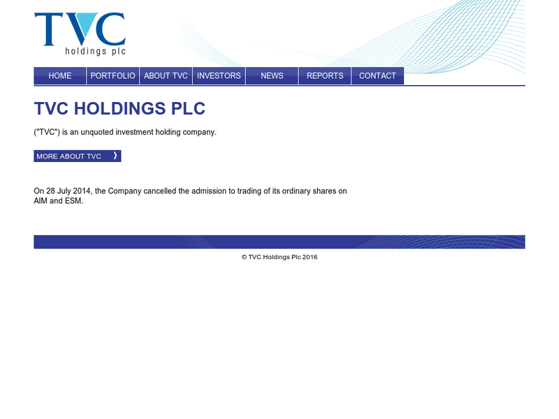 Images from TVC Holdings plc