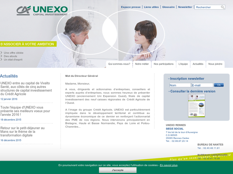 Images from UNEXO Capital Investissement
