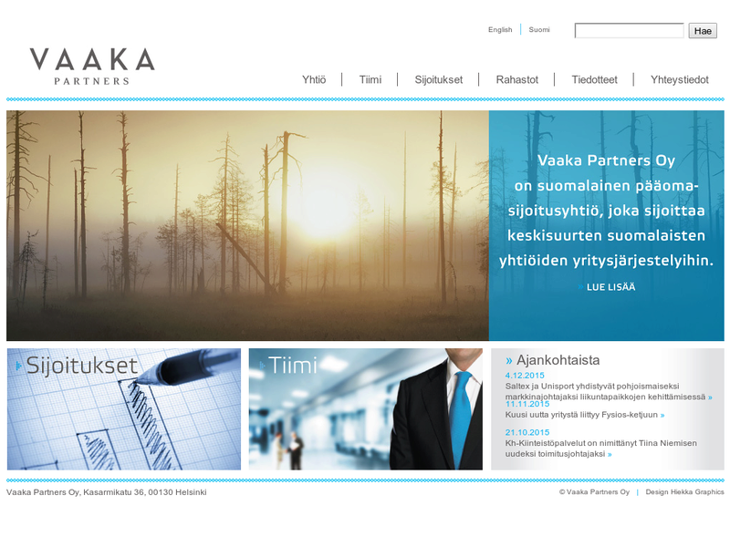 Images from Vaaka Partners Oy