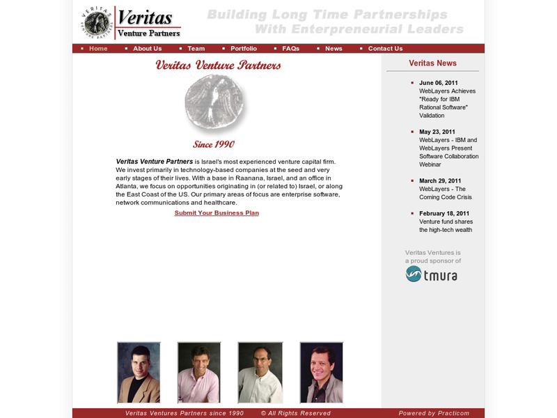 Images from Veritas Venture Partners