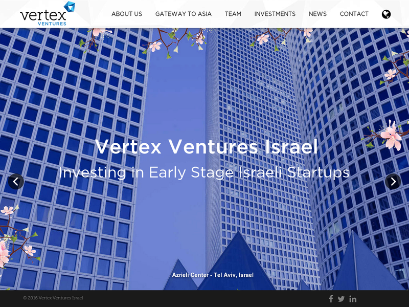 Images from Vertex Venture Capital - Israel