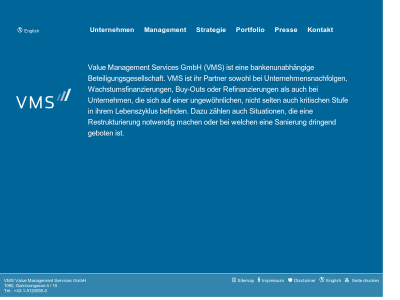 Images from VMS Value Management Services GmbH