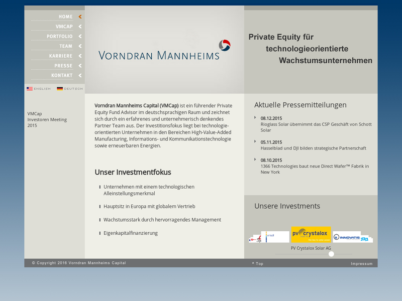 Images from Vorndran Mannheims Capital Advisors GmbH