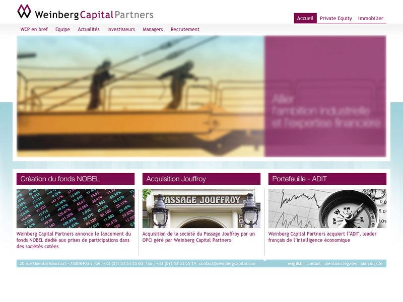 Images from Weinberg Capital Partners