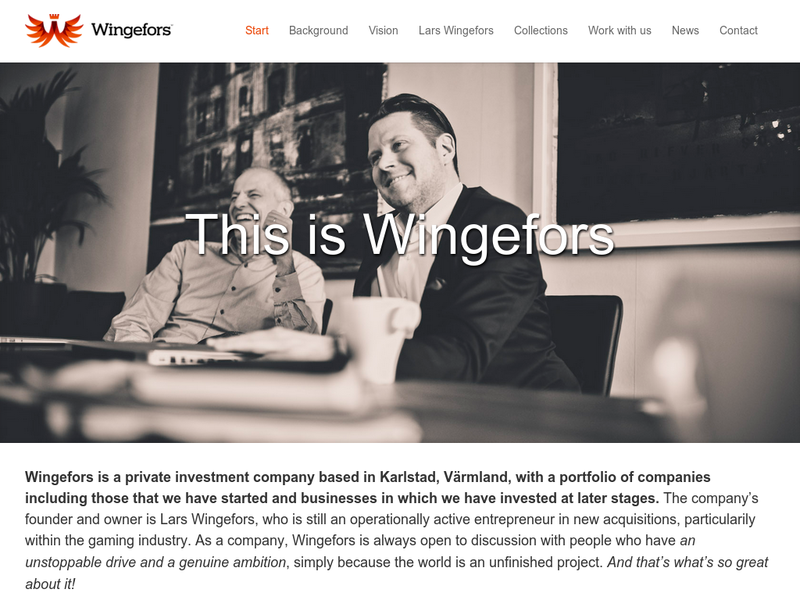 Images from Wingefors Invest AB