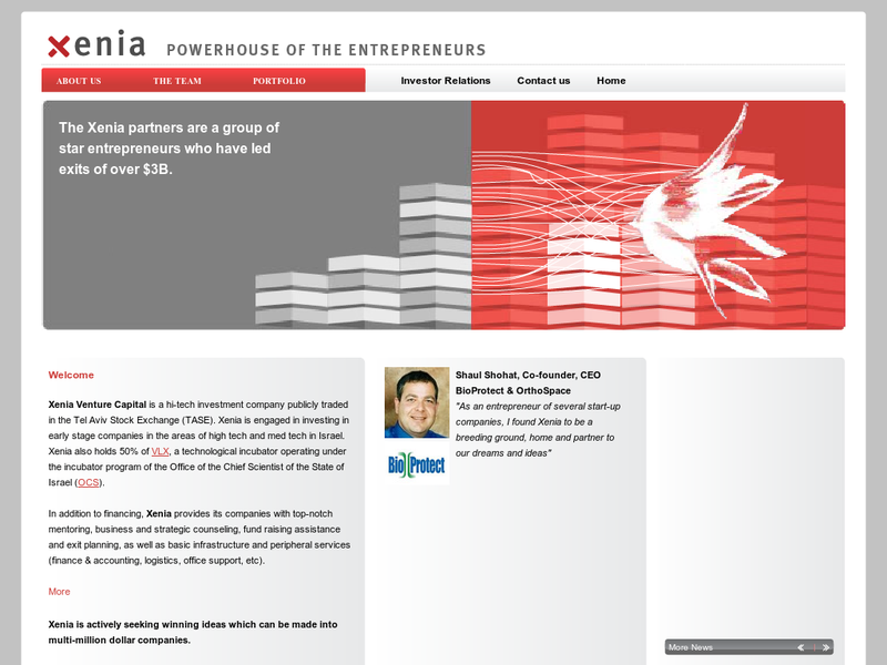 Images from Xenia Venture Capital