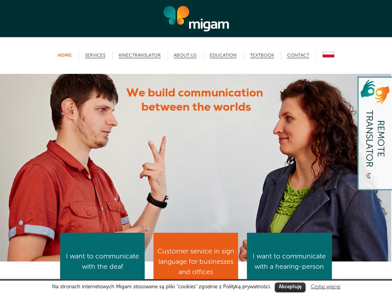 Images from Migam Interpreter / Migam Translator
