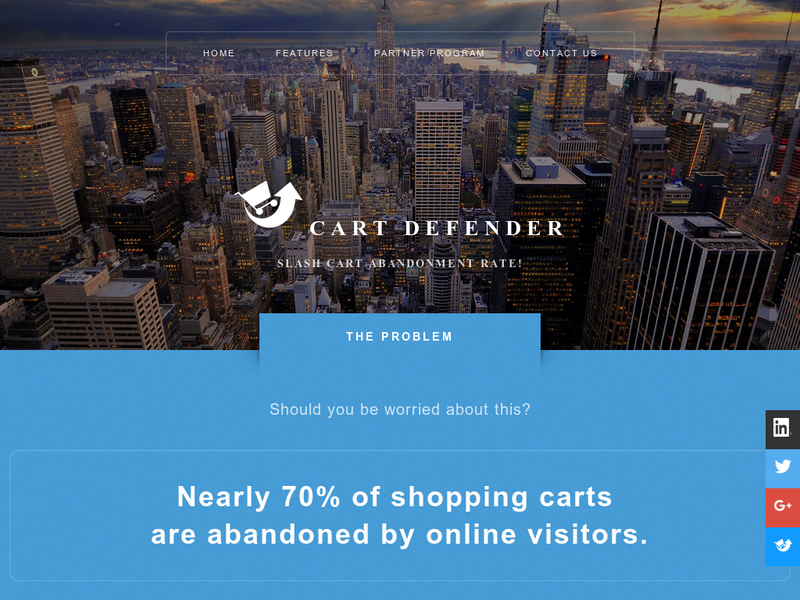 Images from Cart Defender