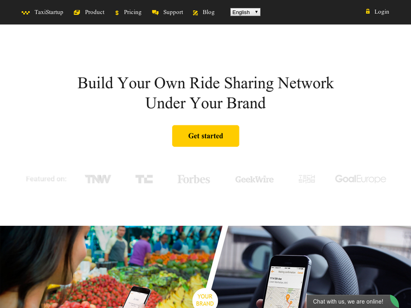 Images from TaxiStartup