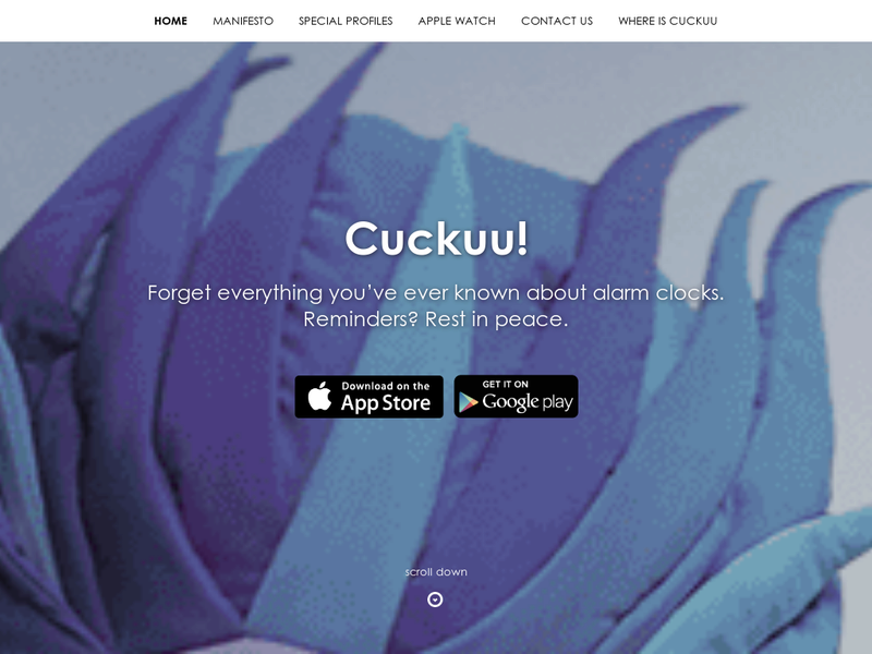 Images from Cuckuu Ltd.
